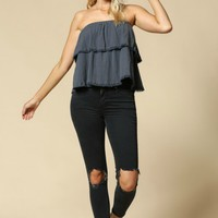 Double Layer Tube Top