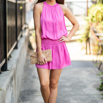The Way To Be Tunic, Hot Pink