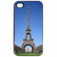 iPhone 4 4s Eiffel Tower Hard iPhone Case Comes in by KustomCases