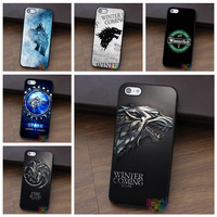 Game of Thrones phone cases for iphone 4 4s 5 5s 5c SE 6 6s 6 plus 6s plus 7 7 plus