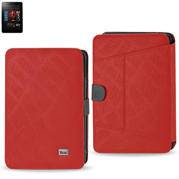 Magnetic closure CASE Amazon Kindle Fire HD 7 inch RED