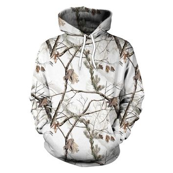 Men Camouflage Hoodie Shirt Couple Pullover Hooded Sweater Shirt Men Hunting Shirt Hunting Clothes Fishing Shirt Camping Hoodie