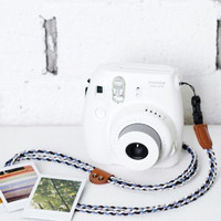 Instax Mini Camera Strap Fujifilm Camera Braiding Black Blue White