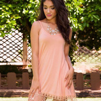 Womens Tassel Dress for Summer
