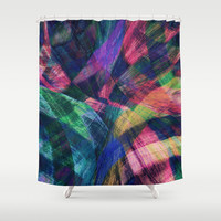 Color Therapy Shower Curtain by Sandra Arduini