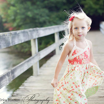 Girl's Classic Sundress kid's clothing sewing Tutorial Pattern ePattern DIY ebook PDF for kids babies toddlers INSTANT download