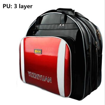 PU Waterproof Fishing Bag Large Capacity Multifunctional Lure Fishing Tackle Pack Outdoor backpack Oxford cloth hand Fishing bag