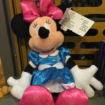 disney parks 2016 minnie mouse with music baton plush toy new with tags