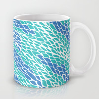 Flying Feathers Mug by Pom Graphic Design