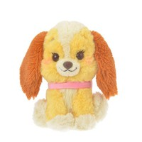 Lady Plush Doll S PASTEL STYLE Disney Store Japan Lady and the Tramp - VeryGoods.JP