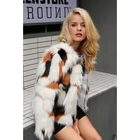 Autum Fox Faux Fur Coat