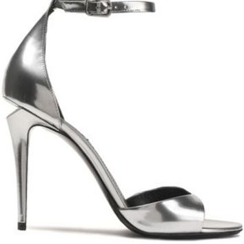 Metallic leather sandals | ALEXANDER WANG | Sale up to 70% off | THE OUTNET