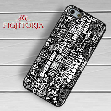 Bands Logo - zzZzz for  iPhone 4/4S/5/5S/5C/6/6+s,Samsung S3/S4/S5/S6 Regular/S6 Edge,Samsung Note 3/4