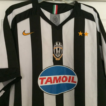 Sale!! Vintage Nike Juventus FC Italy Home Soccer jersey Italia Football Shirt Size Large Free Shipping within the USA