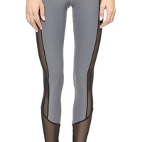 Blue Life Fit Contrast Leggings