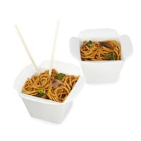 Take Out Bowls - Set of 2 | Hostess Gifts