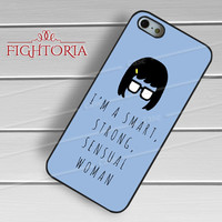 Tina Belcher and quotes -5tl9 for iPhone 4/4S/5/5S/5C/6/6+,samsung S3/S4/S5/S6 Regular/S6 Edge,samsung note 3/4