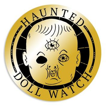 DFTBA - Haunted Doll Watch Enamel Pin
