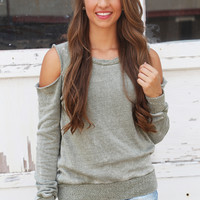 Lightly Distressed Sweater