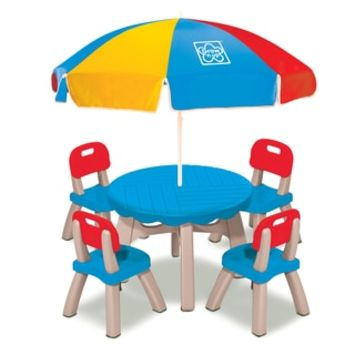 Grow 'N Up Summertime Patio Set - Free Shipping Today - Overstock.com - 21019087 - Mobile