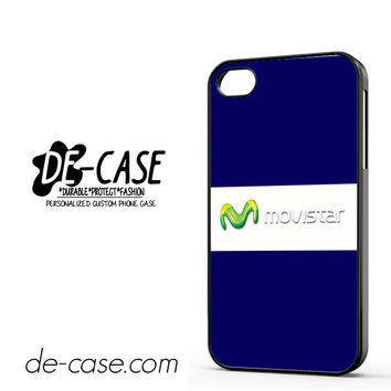 Movistar Blue DEAL-7484 Apple Phonecase Cover For Iphone 4 / Iphone 4S