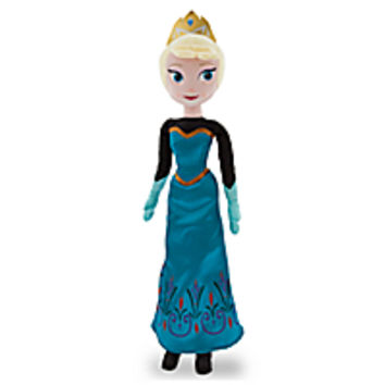 Elsa Plush Doll - Frozen - Holiday - Medium - 21''