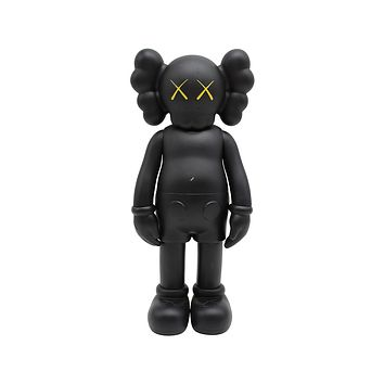 Medicom Toys x KAWS Companion Open Edition Vinyl Black Figure 2016