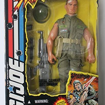 G.I. Joe Sgt. Savage Total Combat 12`` Action Figure