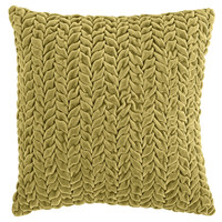 Ruched Pillow - Moss