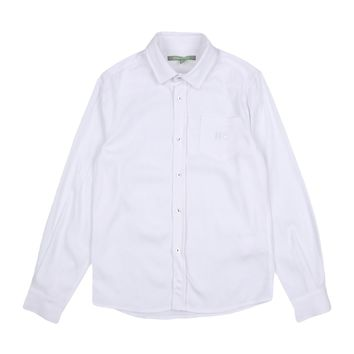 Heach Junior - Baby Boys Classic Formal Long Sleeve Shirt, White