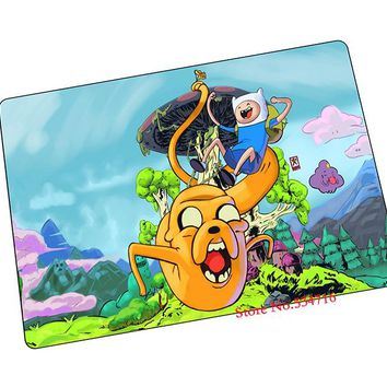 Adventure Time mouse pad  Jake mousepad laptop anime mouse pad notbook computer gaming mouse pad gamer play mats
