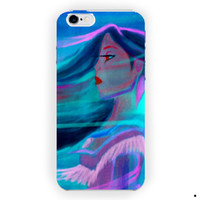 Pocahontas Paint Design Art Disney For iPhone 6 / 6 Plus Case
