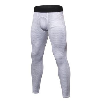 Men Sports Running Pants Fitness Training Soccer Tennis Workout Gym Bodybuilding Breathable Quick Dry Jogging Elastic Trousers