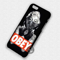 Obey Marylin Monroe - iPhone 7 6 Plus 5c 5s SE Cases & Covers