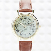 Constellation Watch in Tan - Urban Outfitters