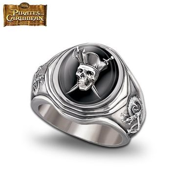 Pirates Of The Caribbean Men's Ring by The Bradford Exchange
