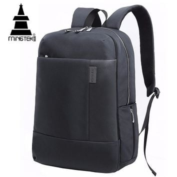 Casual Business Laptop Backpack Unisex 14 15 17 inch Tablet School Bags For Teenager Waterproof Nylon Travel Notebook Backpacks