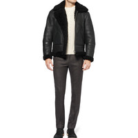 Acne Ian Shearling Jacket | MR PORTER