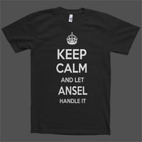 Keep Calm and let Ansel Handle it Personalized Name T-Shirt
