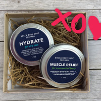 Skin Care Gift for Boyfriend, Mens Travel Gift Set