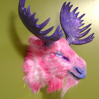 Cosmic Galaxy Moose Head Wall Mount