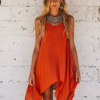 Fiery Heart Dress - Kivari