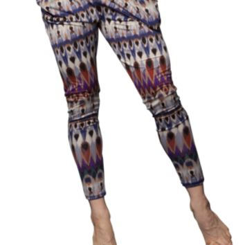 Basic Flow Pant (Tribal Print, Available in Two Colors)
