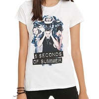 5 Seconds Of Summer Silly Photo Girls T-Shirt