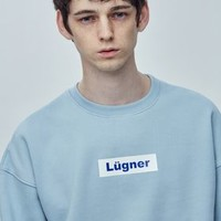 [Do-hee's Item] LÜGNER [Unisex] Basic sweatshirts-skyblue P000000U | MOMOKOREA.COM