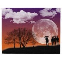 """Walking in front of the moon"" Puzzle"