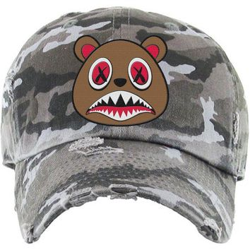 Cinnamon Baws Black Camo Dad Hat