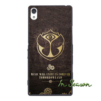 Tomorrowland Compact Cover Case for IPhone 4 4s 5 5s SE 5c 6 6s Plus SONY Xperia Z Z1 Z2 Z3 Z4 MINI M2 M4 C3 C4 C5 T2 T3