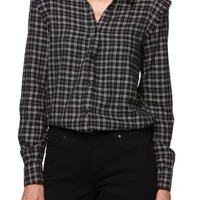 PAIGE Alia Plaid Shirt | Nordstrom