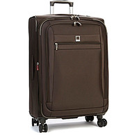 """Delsey Helium Hyperlite 25"""" Expandable Spinner Trolley - Brown 25"""" Exp"""